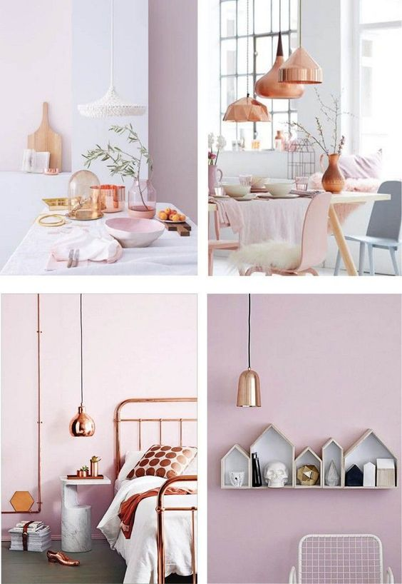 Chambre Adult Deco Rose Pale - Amazing Home Ideas ...
