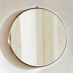 miroir rond metal