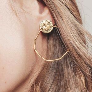 boucles oreilles or fin louyetu