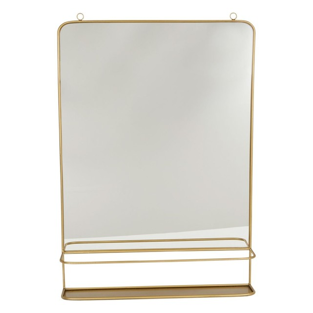 miroir dore