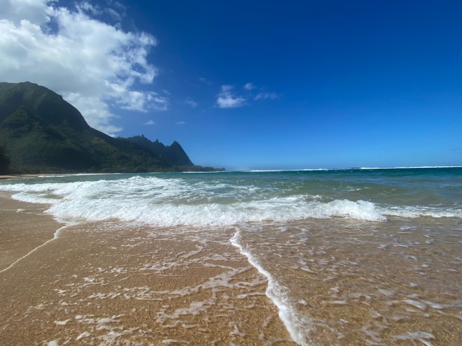 Tunnels Beach Kauai