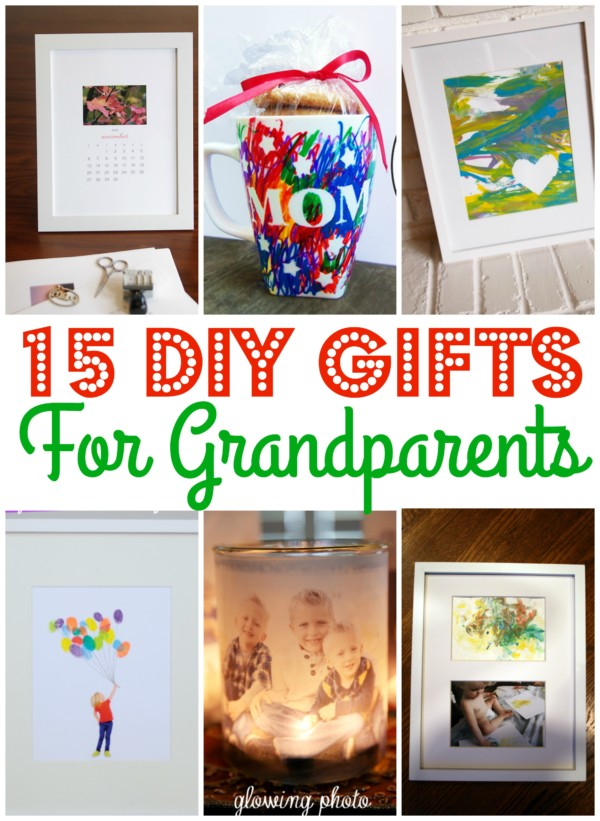 Mommy Frames: 15 DIY Gifts For Grandparents
