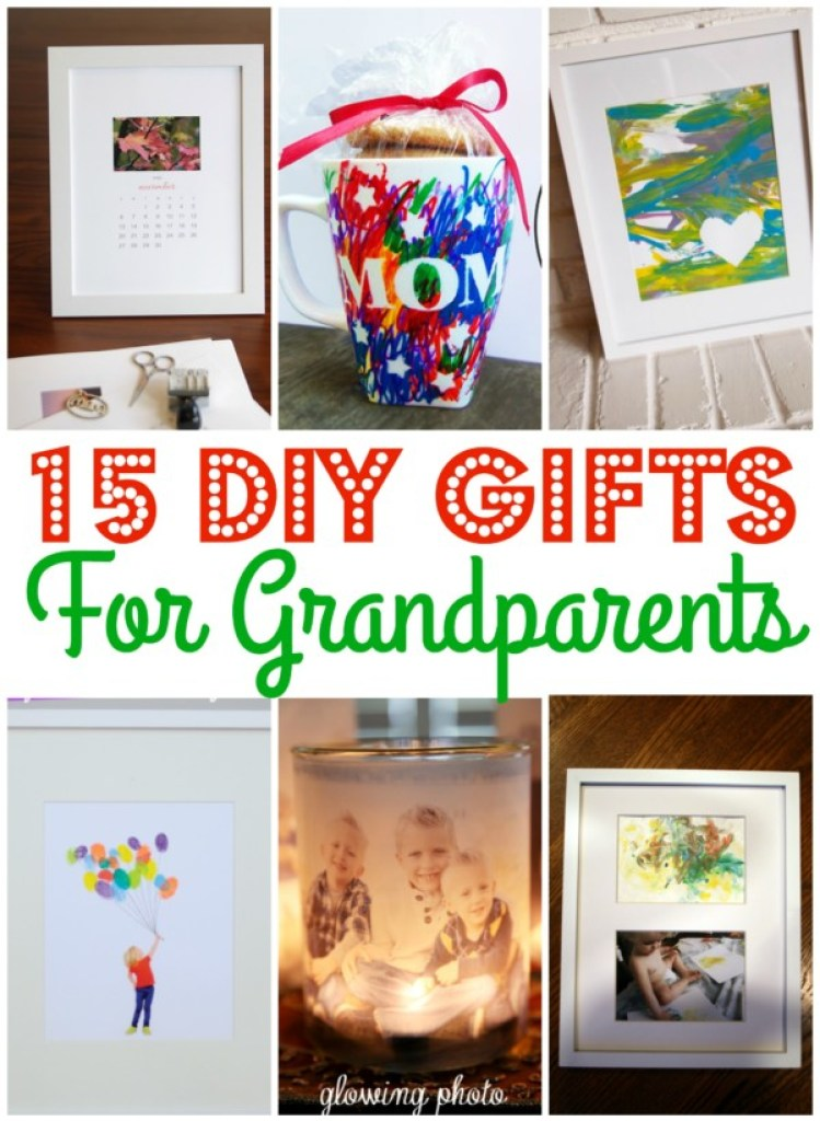 15 Diy Gifts For Grandparents Morgan Manages Mommyhood