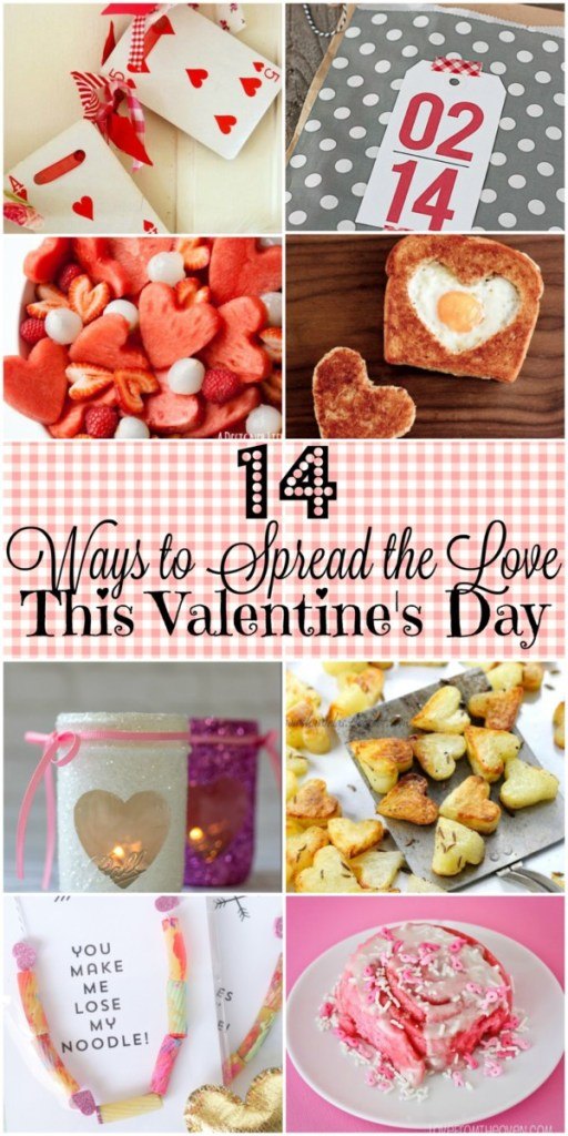 Looking for ways to spread the love to your favorite people this Valentine's Day? Check out these 14 awesome ideas!