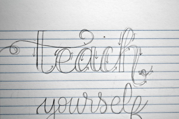 Hand lettering is a cheap inexpensive hobby anyone can do. Teach yourself how to hand letter!