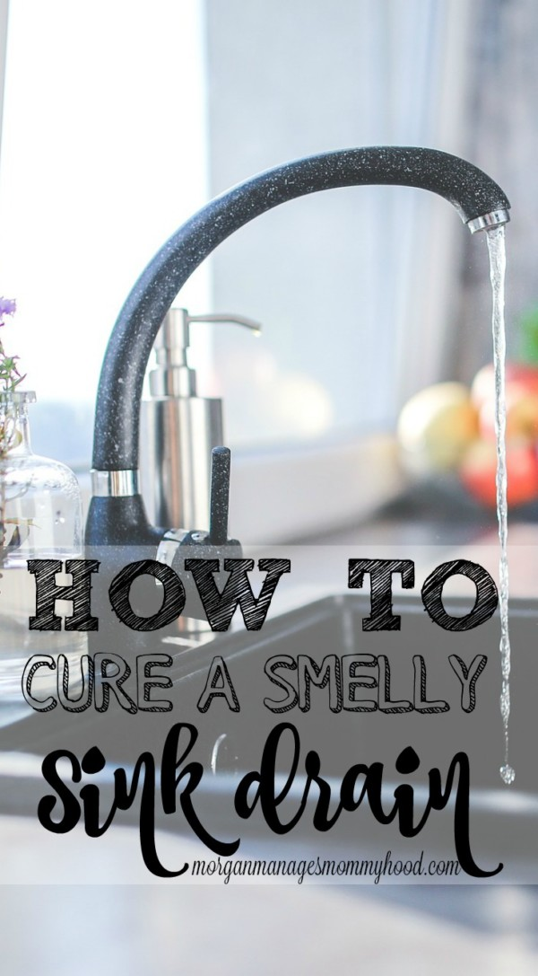 smell coming from kitchen sink how to cure a smelly sink drain manages mommyhood 8144