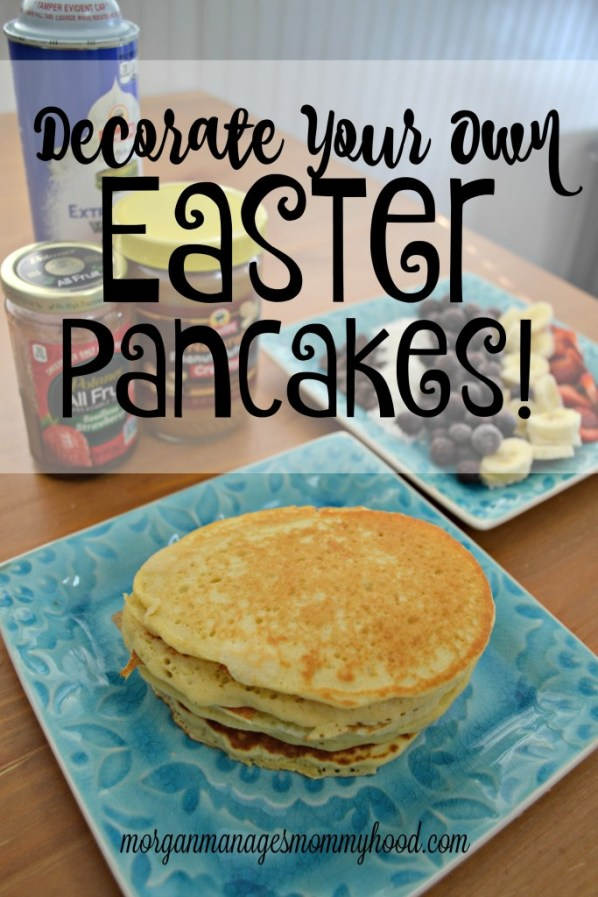 These decorate your own Easter pancakes are a fun way to bring some holiday fun into an Easter brunch or just Easter breakfast! Check out this post to learn how to start this fun tradition in your home!