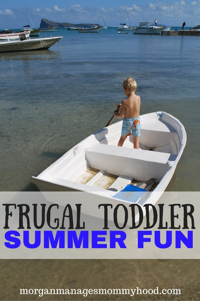 "With summer often comes a huge price tag for all of the fun toys, outings, and activities you ""need"" to help your child enjoy all summer has to offer. Spoiler alert - he doesn't need all of that to enjoy summer! Check out this awesome resource for way to maximize summer fun for your toddler while minimizing the hit to your wallet!"