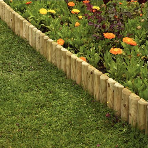 Timber Border Edging