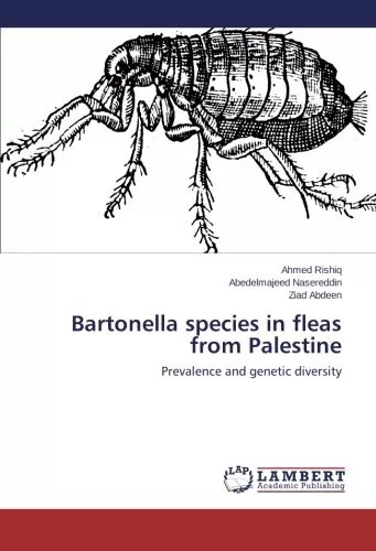 Bartonella species in fleas from Palestine: Prevalence and genetic diversity
