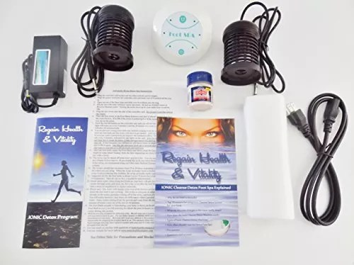 Ionic foot cleanse. Ionic Foot Bath Spa Chi Cleanse Unit for Home Use. Best Home Foot Spa. Comes with Free Regain Healh & Vitality Booklet