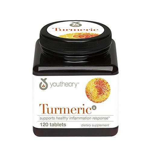 Youtheory Turmeric Advanced Formula Tablets, 120 Count