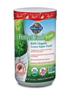 Garden of Life Perfect Food RAW Organic Green Super Food Apple — 7.9 oz