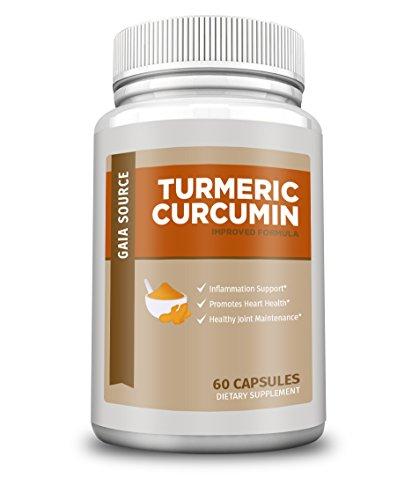 Gaia Source – Turmeric Curcumin – Improved Formula