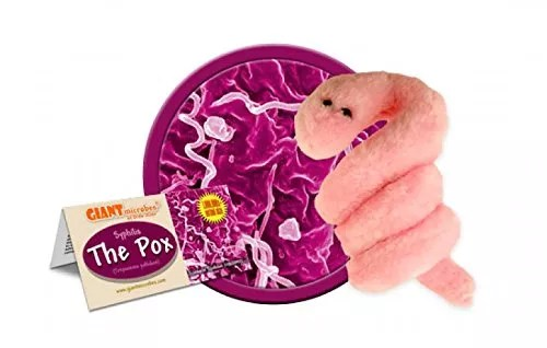 Giant Microbes Pox – Syphilis Treponema Pallidum Science Kit
