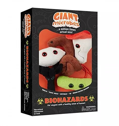 Giantmicrobes Themed Gift Boxes – Biohazards