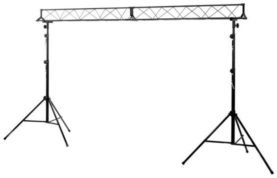 Lighting technology rental, Stairville LB-3 Lighting Stand Set 3m Traverse Light stand for rent/borrow
