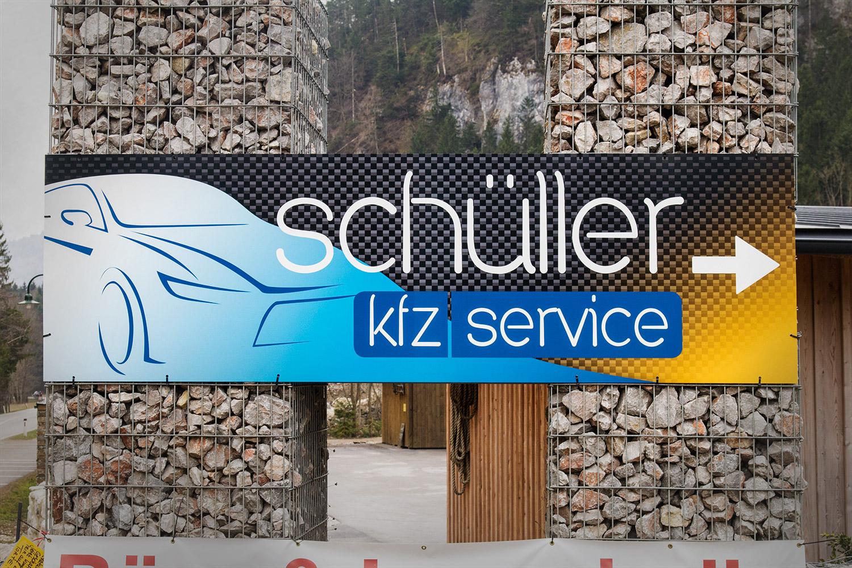 Tafeln für KFZ-Stelle Martin Schüller
