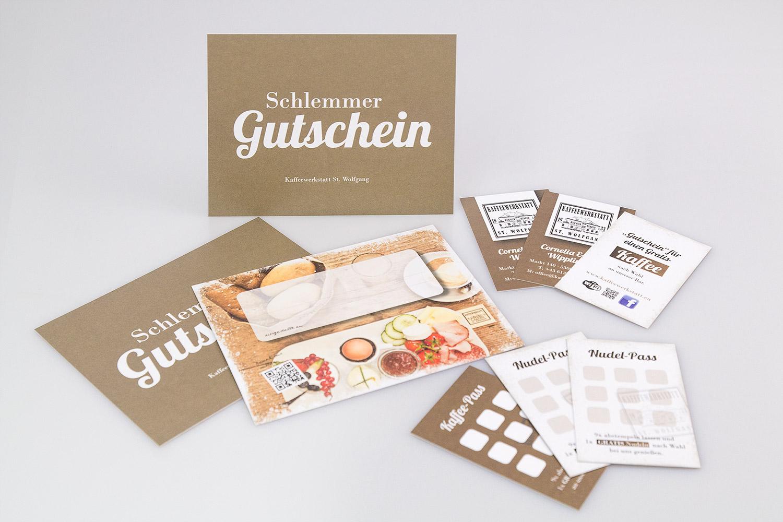 Drucksorten designed by MORI Werbung & Fotografie