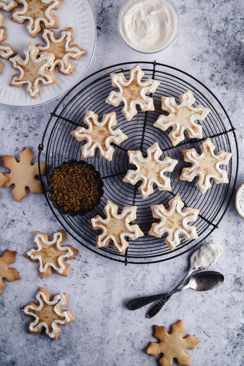The Best Easy Best Paleo Cut-Out Sugar Cookies made with cassava flour and coconut oil for an easy gluten free, dairy-free, and nut free holiday cookie!