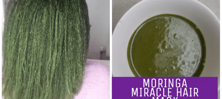Moringa Leaf Powder For Healthy and Shiny Hair