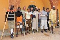 Patients et équipe bénévole