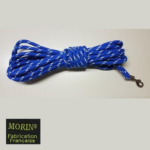 Longe pour chien, en corde diamètre 10 mm