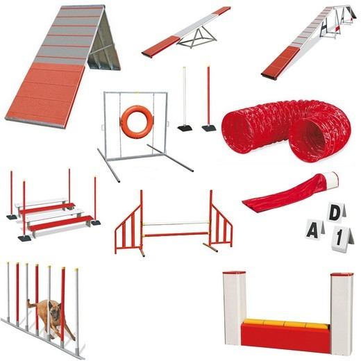 Parcours Agility complet BASIC - Agility Systems