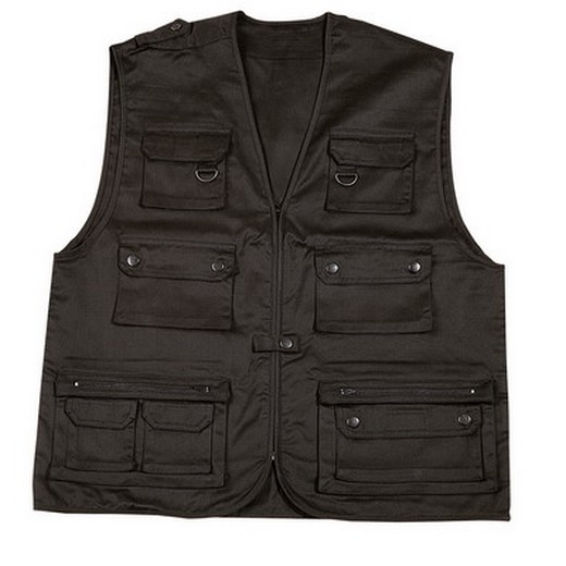 Gilet multi-poches type reporter