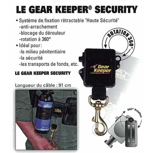 Gear keeper Security