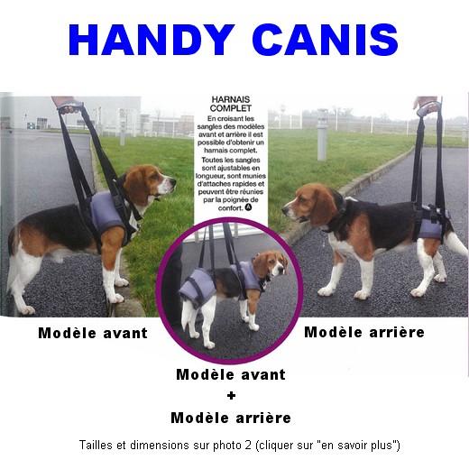 Harnais de soutien Handy Canis