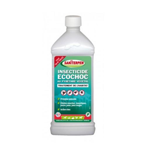 Insecticide Ecochoc au pyrèthre végétal - Saniterpen