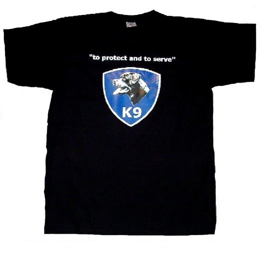 "Tee Shirt ""to Protect and to serve"" - Rottweiler"