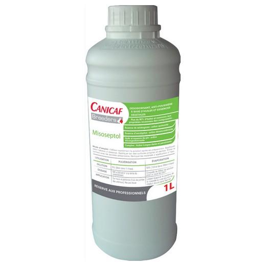 Misoseptol - Désodorisant et anti-poussière Canicaf Breeders