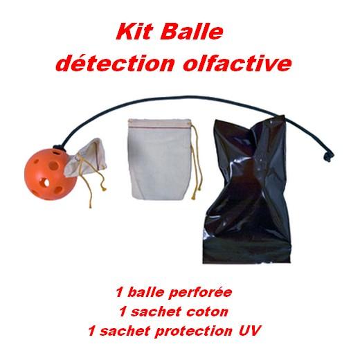 Kit balle pour détection olfactive