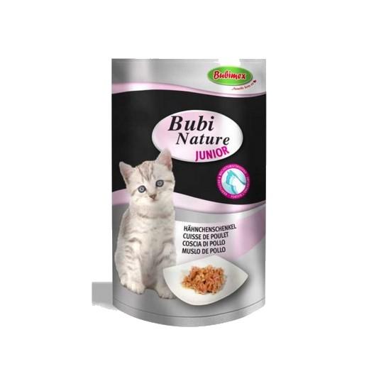 Sachet fraicheur Bubi Nature chat, Junior cuisse de poulet