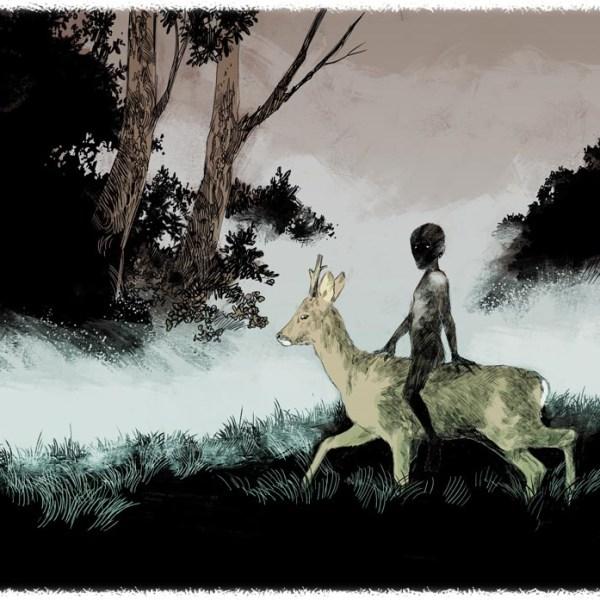 Le Chevreuil et l'enfant