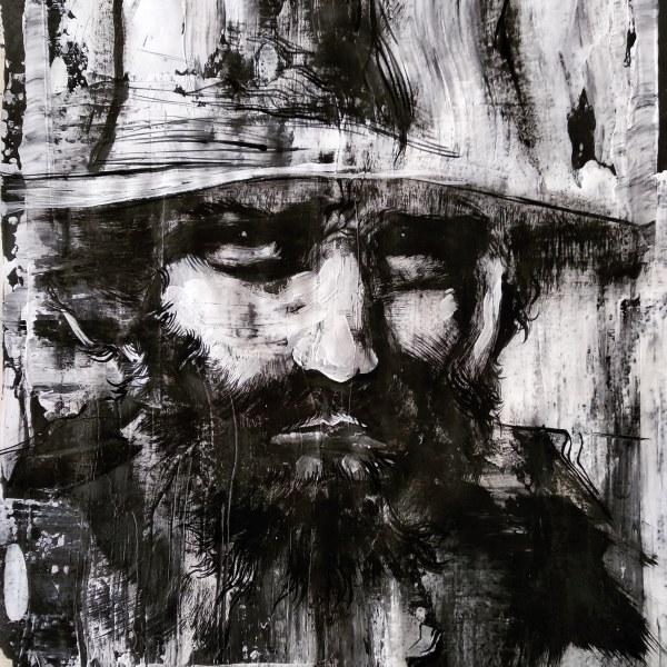 Expérience en noir et blanc sur papier