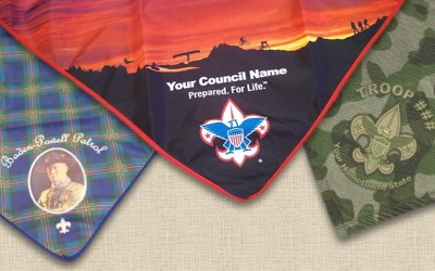 "Digitally-Printed ""All-Over"" Neckerchiefs"