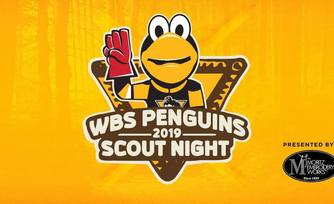 2019 WBS Penguins Scout Night Presented By The Moritz Embroidery Works