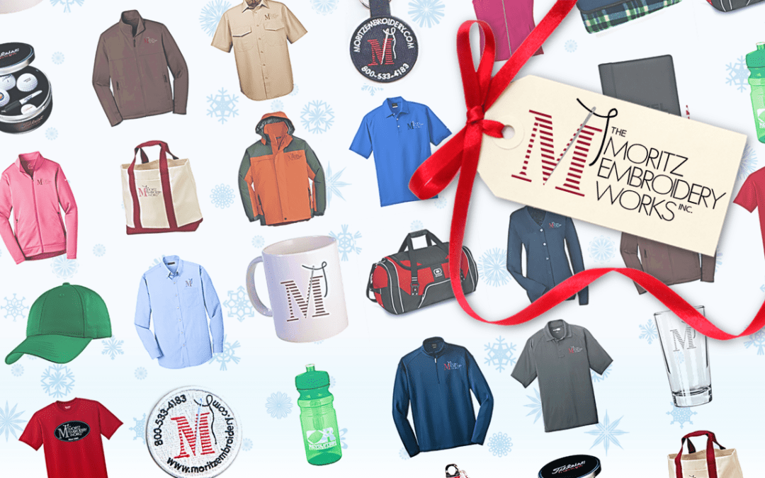 Get Holiday Gifts for Your Business from The Moritz Embroidery Works