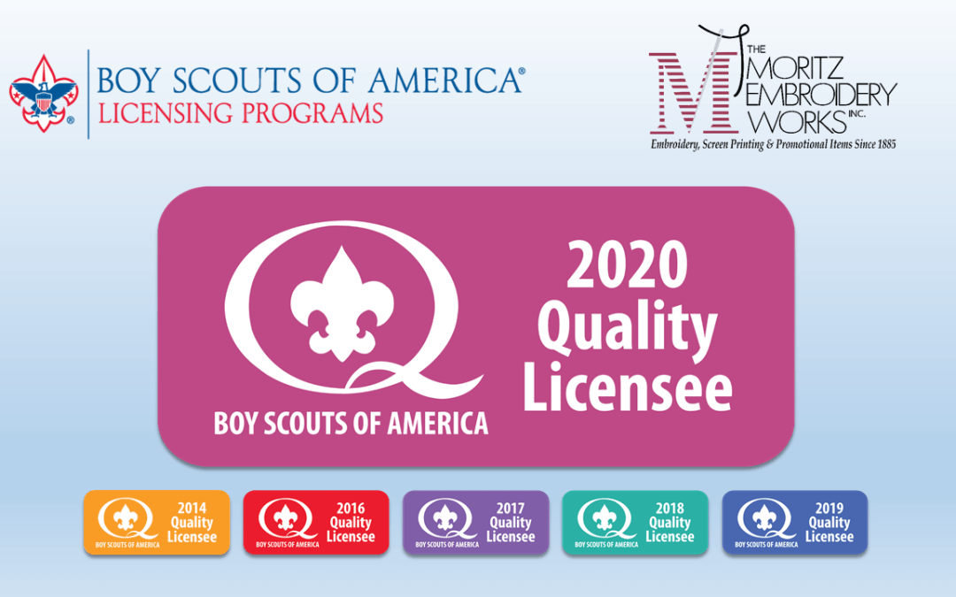 Moritz Named Quality Licensee by the BSA for 2020