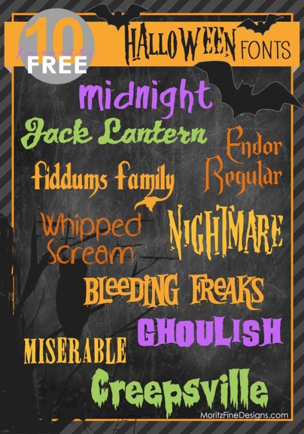 free halloween fonts # 28