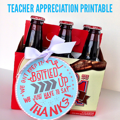 Teacher Appreciation Gift Idea Free Printable From