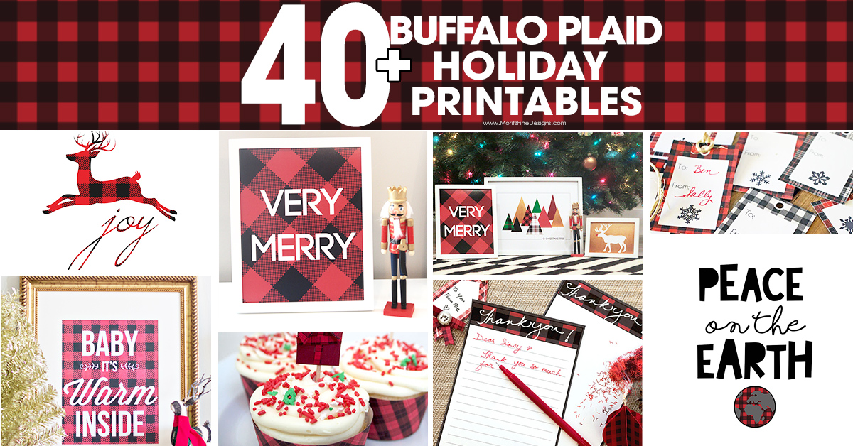 Over 40 Buffalo Check Plaid Printables Free Printable