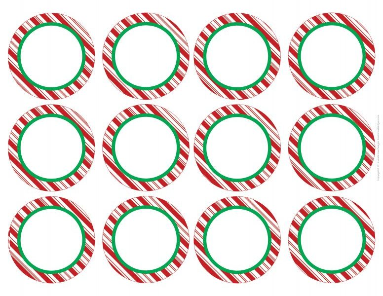 Christmas Tree Place Card Free Printable Included