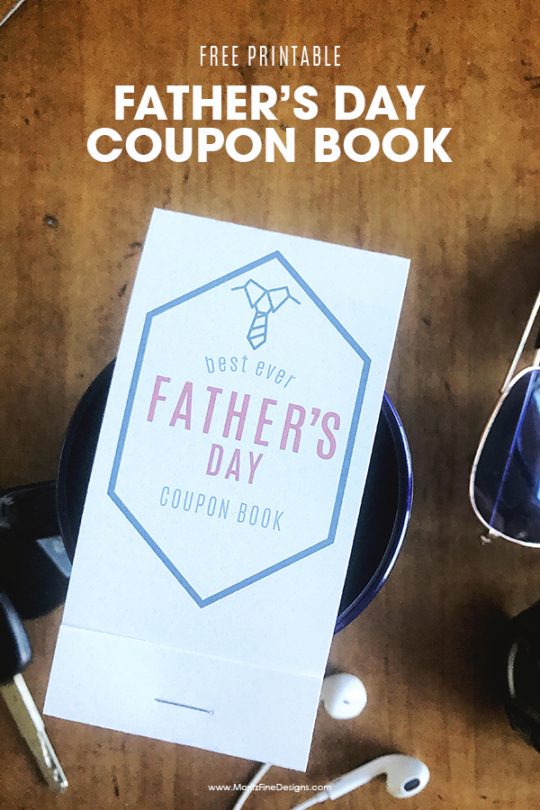 Fathers Day Coupon Book Free Printable Moritz Fine