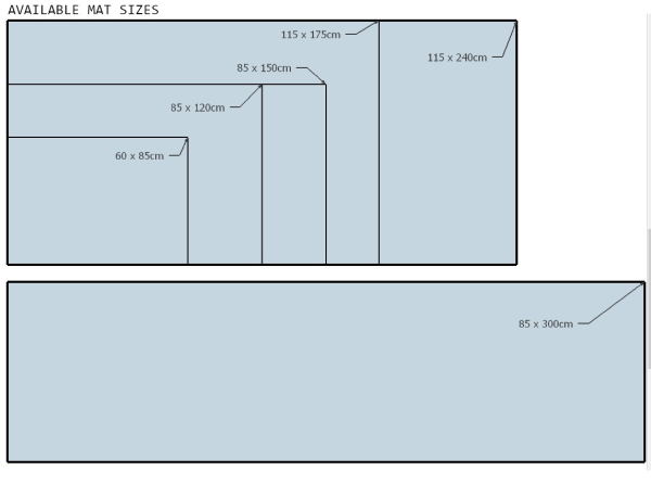 Morland Access Door Mat Sizes