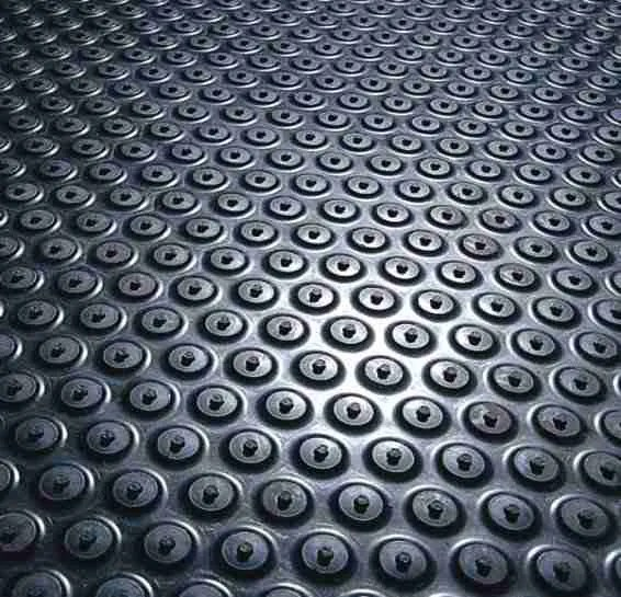 Close up of a Morland Active Industrial Rubber Anti-Fatigue mat