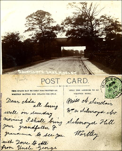 Railway bridge over Bruntcliffe Lane
